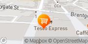 Map Tesco Express Bury St. Edmunds, United Kingdom