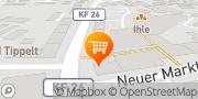 Karte Käsmichls Hütte Kaufbeuren, Deutschland