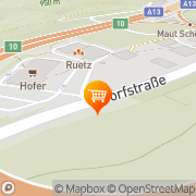 Karte HOFER Schönberg im Stubaital, Österreich