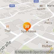 Karte SPAR Markt Josef Krispel Brixlegg, Österreich