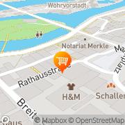 Karte Schaller GmbH & Co. Schwandorf in Bayern, Deutschland