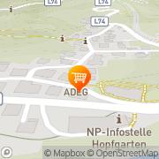 Karte ADEG-Markt Blaßnig Anna Hopfgarten in Defereggen, Österreich