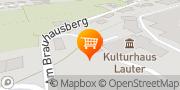 Karte Partyservice und Catering im Kulturhaus Lauter - Andreas Möckel Lauter-Bernsbach, Deutschland