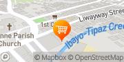 Map Affordable Catering Service Taguig Calooca Parañaque Taguig, Philippines
