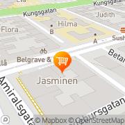 Karta Kenn & Amar AB Malmö, Sverige