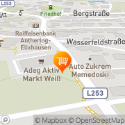 Karte Adeg Aktiv Markt Weiß Anthering, Österreich
