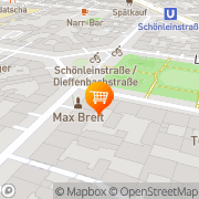Map Hudson's Cakes Berlin, Germany