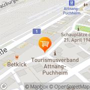 Karte Billa Attnang-Puchheim, Österreich