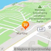 Karte Martinz Ossiach, Österreich