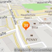 Karte Billa Haid, Österreich