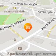 Karte SPAR-Supermarkt Molln, Österreich