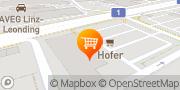 Karte HOFER Linz, Österreich