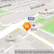 Karte Billa Linz, Österreich