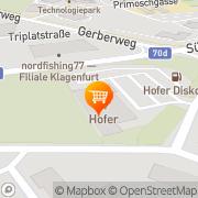 Karte Hofer Klagenfurt, Österreich