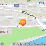 Karte SPAR-Supermarkt Steyr, Österreich