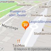 Karte Billa Steyr, Österreich