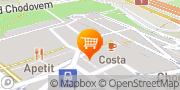 Map BubbleTea, OXO TEA - kuličky, tapioka, čajové koktejly Prague, Czech Republic