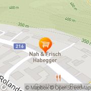 Karte Nah & Frisch Habegger Weiten, Österreich