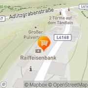 Karte Oberfeichtner Manuela - Manuela's Frischetreff Schottwien, Österreich