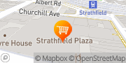 Map BWS Strathfield Strathfield, Australia