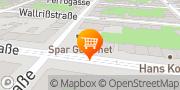 Karte SPAR Gourmet Wien, Österreich
