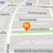 Karte ETSAN Supermarkt Wien, Österreich