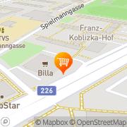 Karte Billa Wien, Österreich