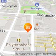 Karte Süßwaren + Tortendekor Georg Holike Wien, Österreich