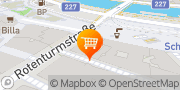 Karte Eissalon Castelletto Wien, Österreich