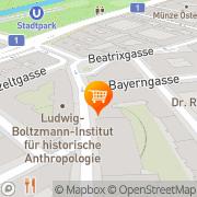 Karte SPAR-Supermarkt Wien, Österreich