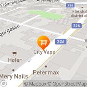 Karte Avarappatt Wien, Österreich
