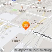Karte PENNY Markt Wien, Österreich