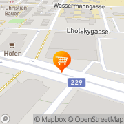 Karte MERKUR Markt Wien, Österreich