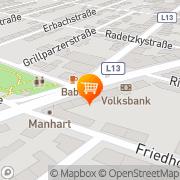 Karte MERKUR Markt Deutsch-Wagram, Österreich