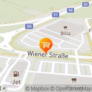 Karte MERKUR Markt Neusiedl am See, Österreich
