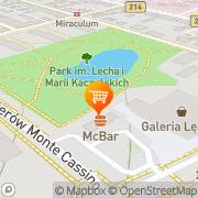 Mapa Golden Café Lębork, Polska