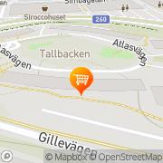 Karta Artichoke Food & Catering AB Nacka, Sverige