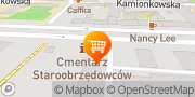 Mapa GASTRO KING - Zapatrzenie Barów Kebab Warszawa, Polska