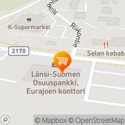 Kartta S-market Eurajoki Eurajoki, Suomi