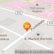 Kartta Siwa Loimaa, Suomi