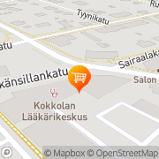 Kartta JUR-Trading Oy Kokkola, Suomi
