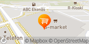 Kartta S-Market Tammisaari Ekenäs Tammisaari, Suomi
