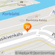 Kartta Kahvila Korte Tampere, Suomi
