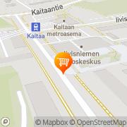 Kartta K-extra Iivisniemi Espoo, Suomi