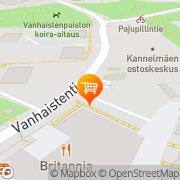 Kartta Alepa Kannelmäki Helsinki, Suomi