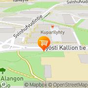 Kartta Alepa Kulosaari Helsinki, Suomi