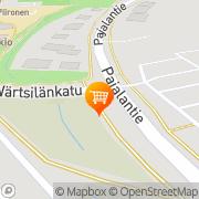 Kartta K-market Neste Järvenpää Järvenpää, Suomi