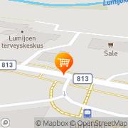 Kartta S-market Lumijoki Lumijoki, Suomi