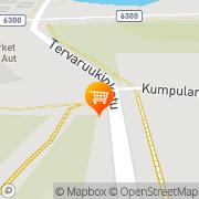 Kartta S-market Tikkakoski Tikkakoski, Suomi