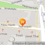 Kartta Marmaris Minimarket Lahti, Suomi